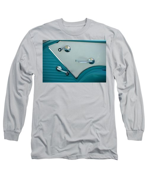 Long Sleeve T-Shirt featuring the photograph 1950's Chevy Interior by Dean Ferreira