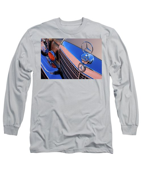 Long Sleeve T-Shirt featuring the photograph 1971 Mercedes-benz 280se 3.5 Cabriolet  by Jill Reger