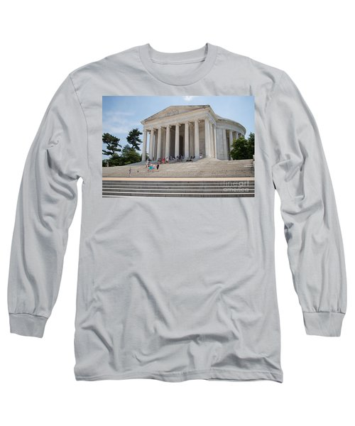 Thomas Jefferson Memorial Long Sleeve T-Shirt