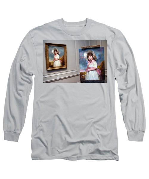 Long Sleeve T-Shirt featuring the photograph A Painting Of A Painting by Cora Wandel