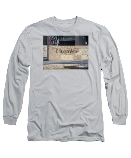 City Garden Long Sleeve T-Shirt by Kelly Awad