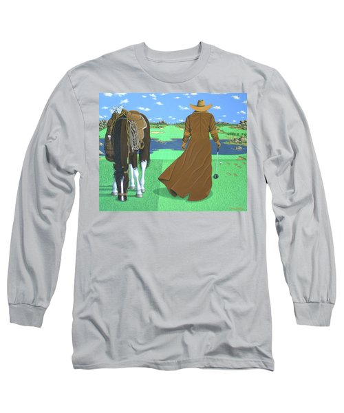 Cowboy Caddy Long Sleeve T-Shirt