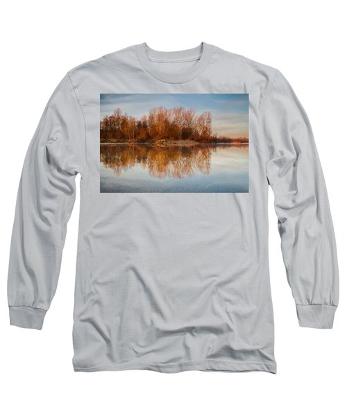 Long Sleeve T-Shirt featuring the photograph First Light by Davorin Mance