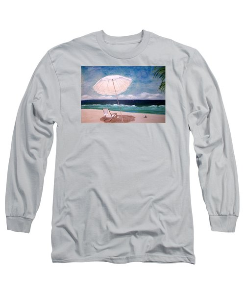 Long Sleeve T-Shirt featuring the painting Lazy Day by Jamie Frier