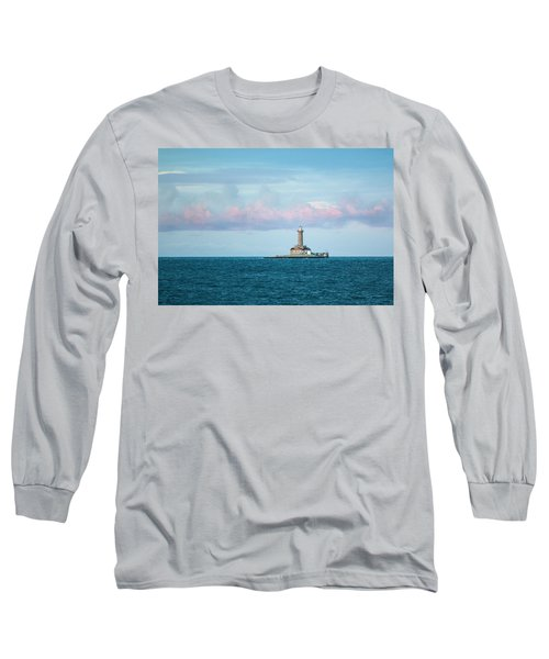 Long Sleeve T-Shirt featuring the photograph Lighthouse by Davorin Mance
