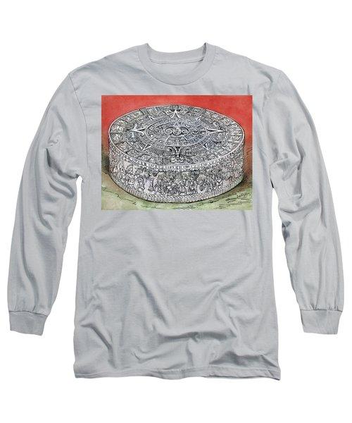 Mexico Stone Of The Sun Long Sleeve T-Shirt