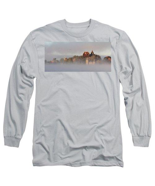Morning Has Broken Long Sleeve T-Shirt by Lori Deiter