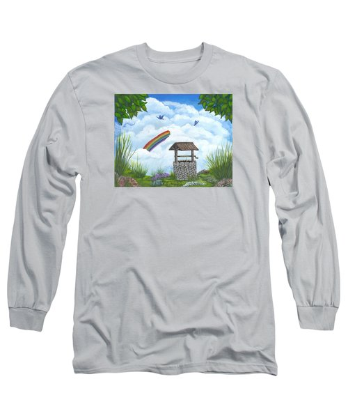 My Wishing Place Long Sleeve T-Shirt by Sheri Keith