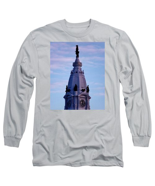 Philly Billy Long Sleeve T-Shirt by John Wartman