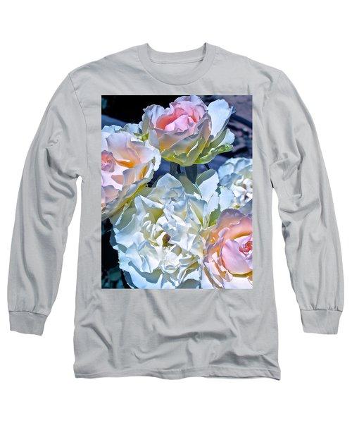 Rose 59 Long Sleeve T-Shirt by Pamela Cooper