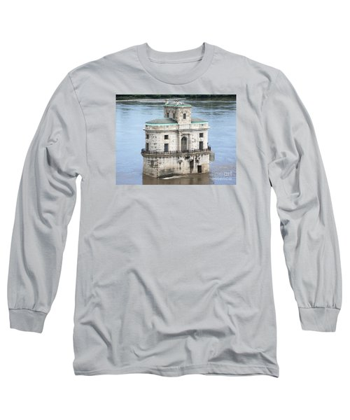 The Old Water House Long Sleeve T-Shirt by Kelly Awad