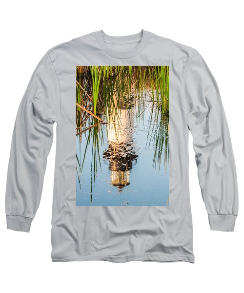 Bodie Island Lighthouse Obx Cape Hatteras North Carolina Long Sleeve T-Shirt