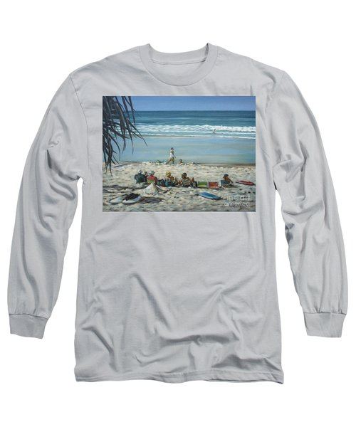 Burleigh Beach 220909 Long Sleeve T-Shirt