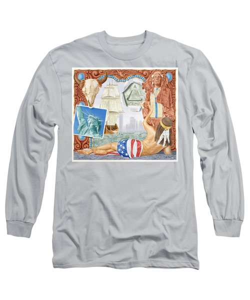 Destruction Of Native America Long Sleeve T-Shirt