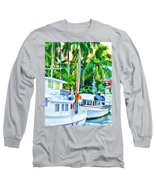 Two Boats Long Sleeve T-Shirt