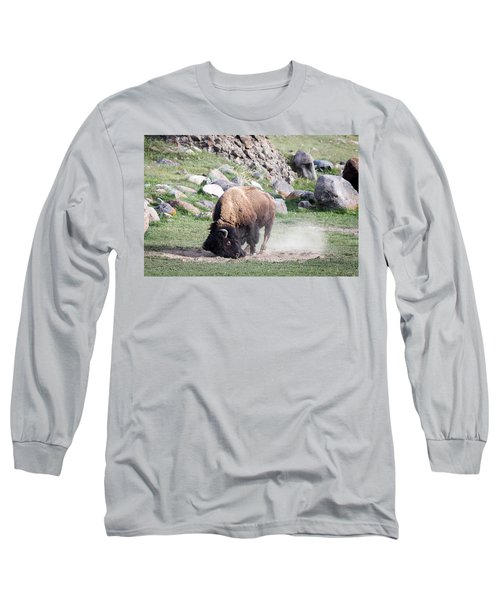 Yellowstone Bison Long Sleeve T-Shirt