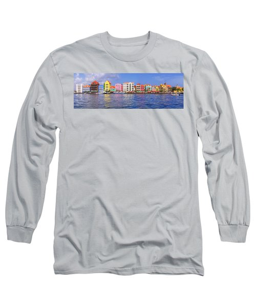 Buildings At The Waterfront Long Sleeve T-Shirt
