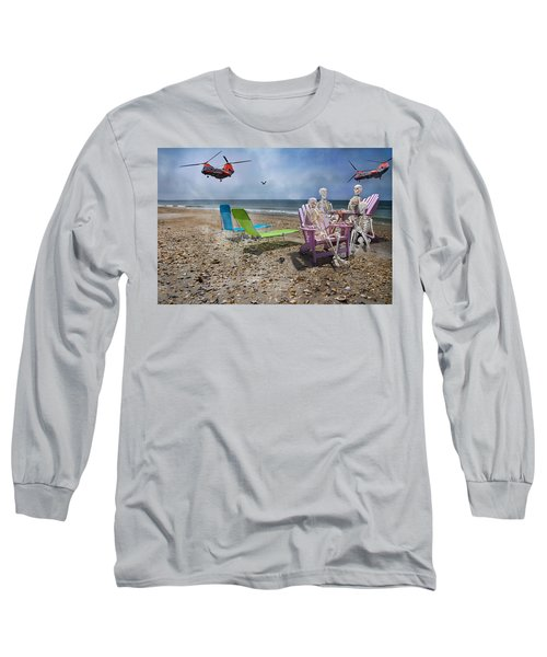 Search Party Long Sleeve T-Shirt by Betsy Knapp