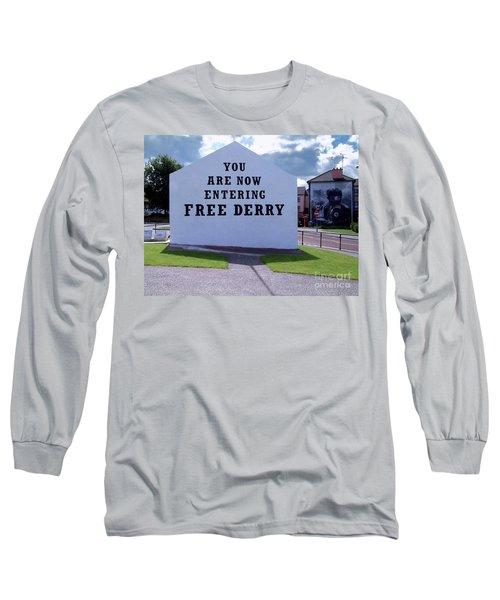 Free Derry Corner 4 Long Sleeve T-Shirt