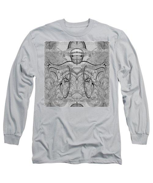 989 - Giant Creature Fractal ... Long Sleeve T-Shirt