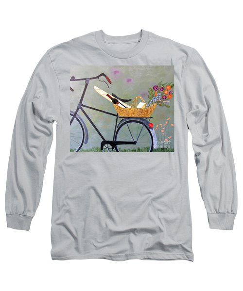 A Bicycle Break Long Sleeve T-Shirt