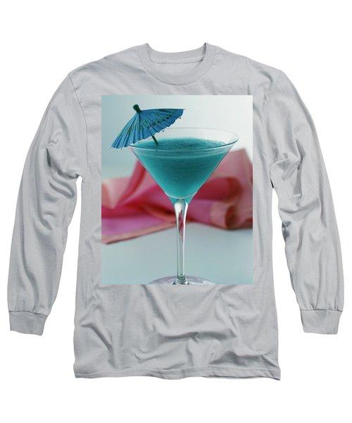 A Blue Hawaiian Cocktail Long Sleeve T-Shirt