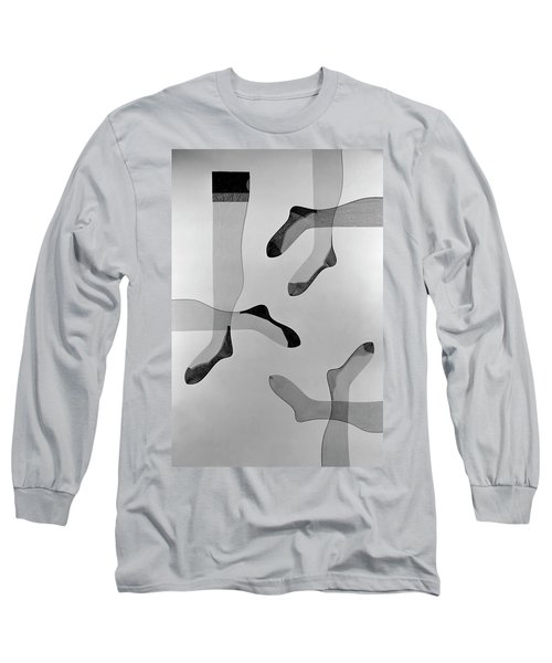 A Collage Of Stockings Long Sleeve T-Shirt