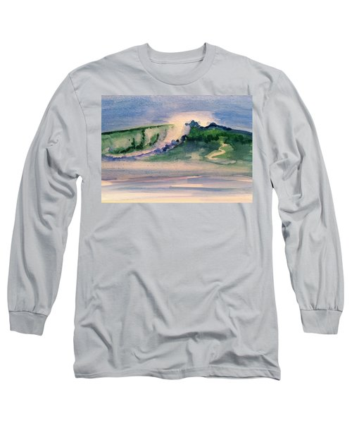 A Day At The Beach 3 Long Sleeve T-Shirt by Hae Kim