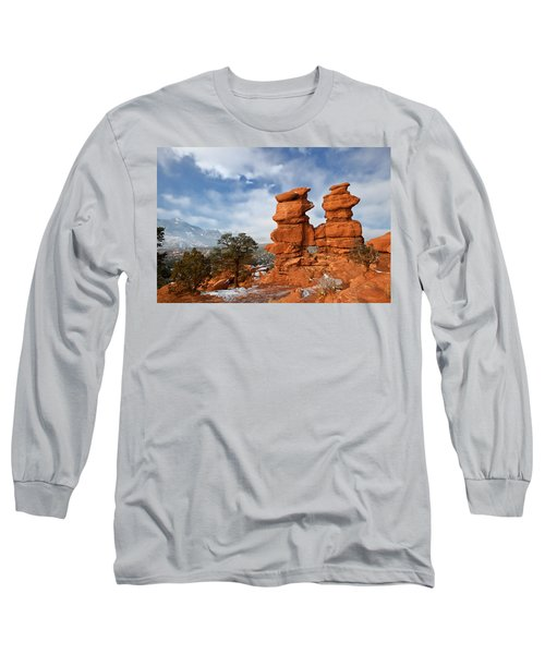 A December Morning Long Sleeve T-Shirt by Ronda Kimbrow