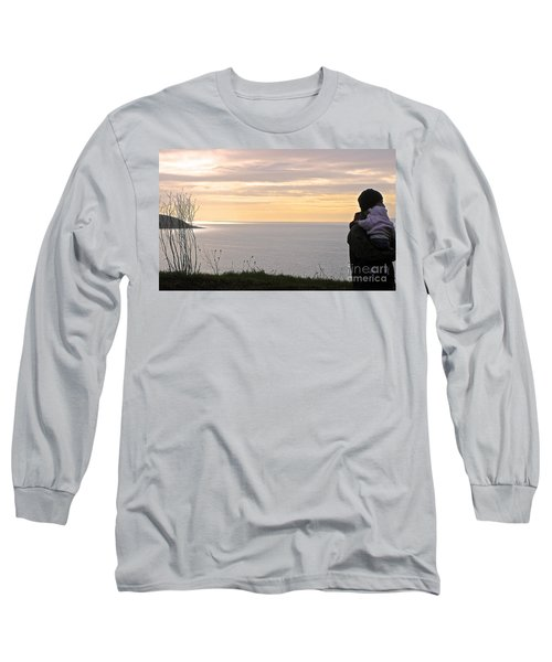 Long Sleeve T-Shirt featuring the photograph A Father's Love by Suzanne Oesterling