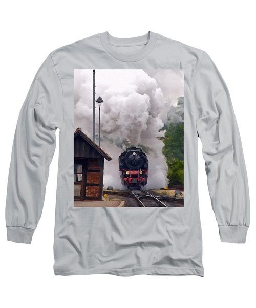 A Full Head Of Steam Long Sleeve T-Shirt