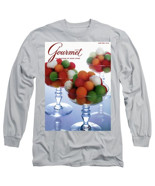 A Gourmet Cover Of Melon Balls Long Sleeve T-Shirt