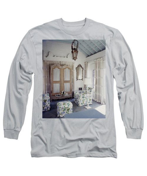 A Guest Room At Hickory Hill Long Sleeve T-Shirt