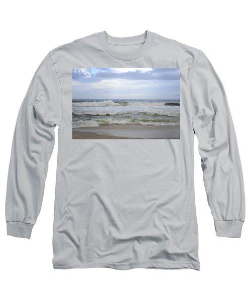 A Peek Of Blue Long Sleeve T-Shirt