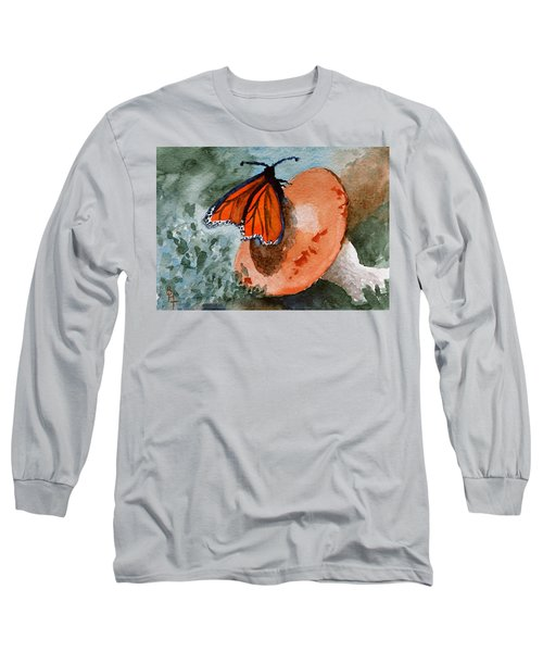 A Resting Place Long Sleeve T-Shirt by Beverley Harper Tinsley