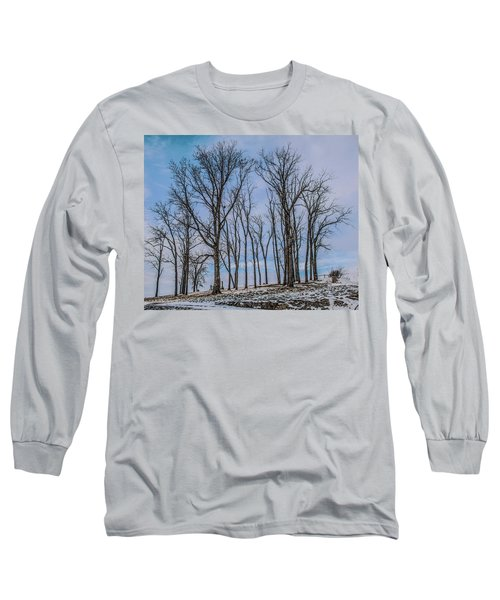 A Resting Place Long Sleeve T-Shirt by Ray Congrove