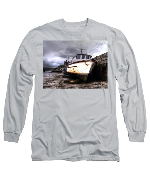 Long Sleeve T-Shirt featuring the photograph A Rough Ride by Doc Braham