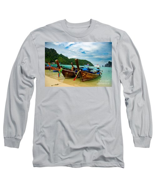 A Series Of Long Tails Long Sleeve T-Shirt