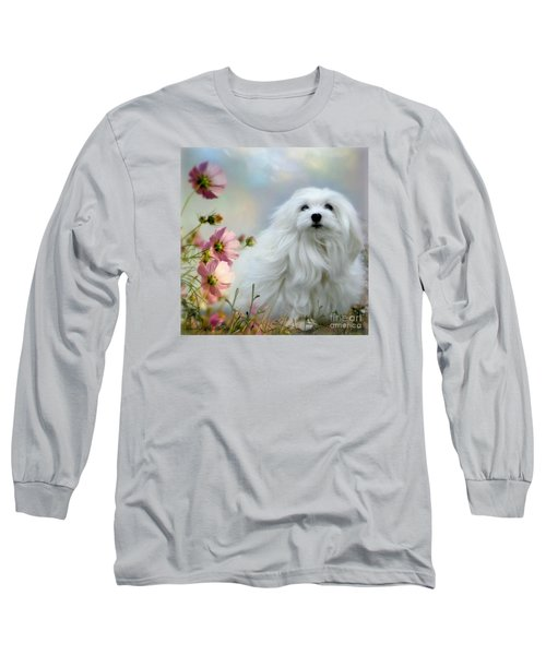 A Soft Summer Breeze Long Sleeve T-Shirt