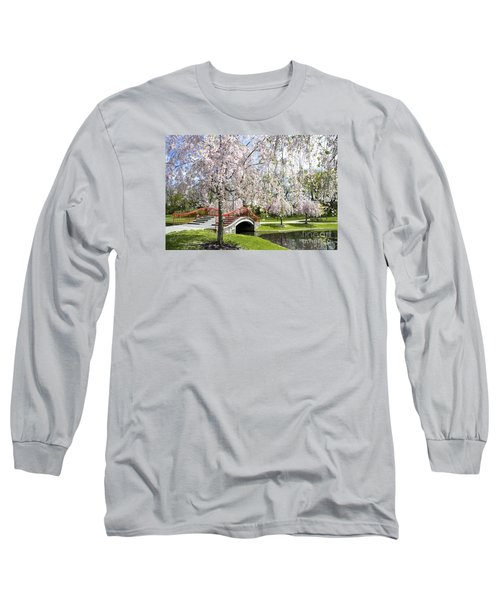 A Spring Walk Long Sleeve T-Shirt by Paul W Faust -  Impressions of Light