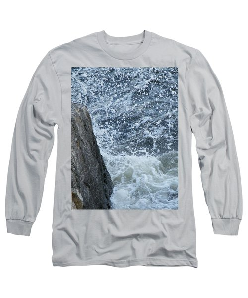 A Stillness In The Storm  Long Sleeve T-Shirt by Brian Boyle
