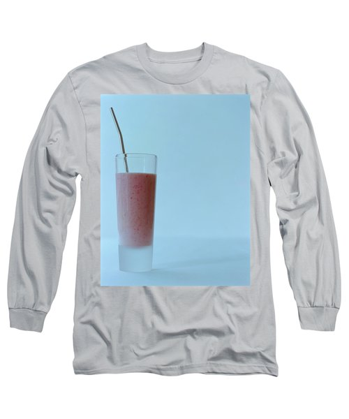 A Strawberry Flavored Drink Long Sleeve T-Shirt