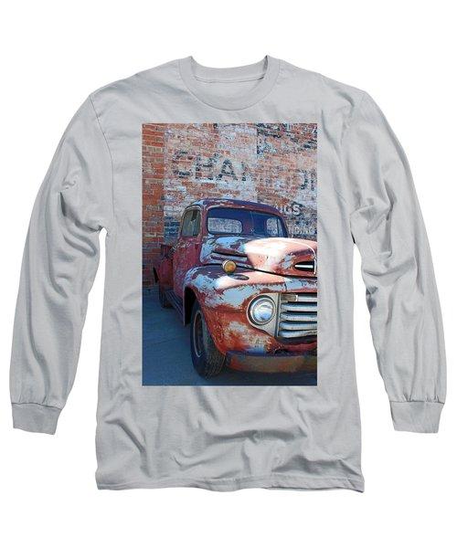 A Truck In Goodland Long Sleeve T-Shirt