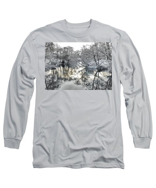 A Winter Scene Long Sleeve T-Shirt