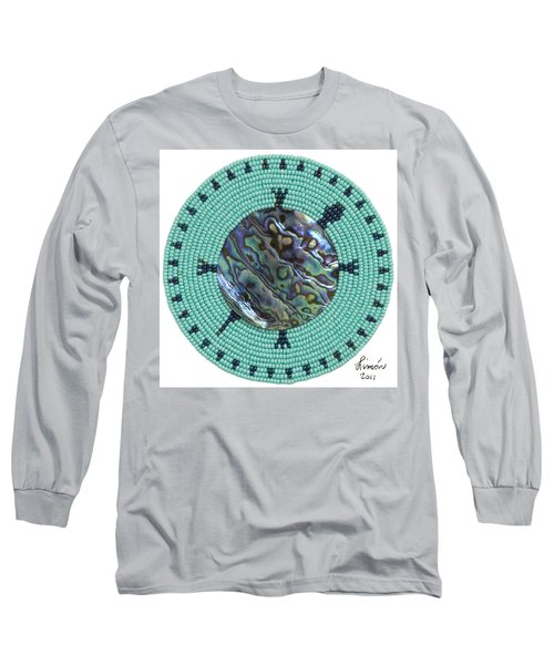 Abalone Shell Long Sleeve T-Shirt