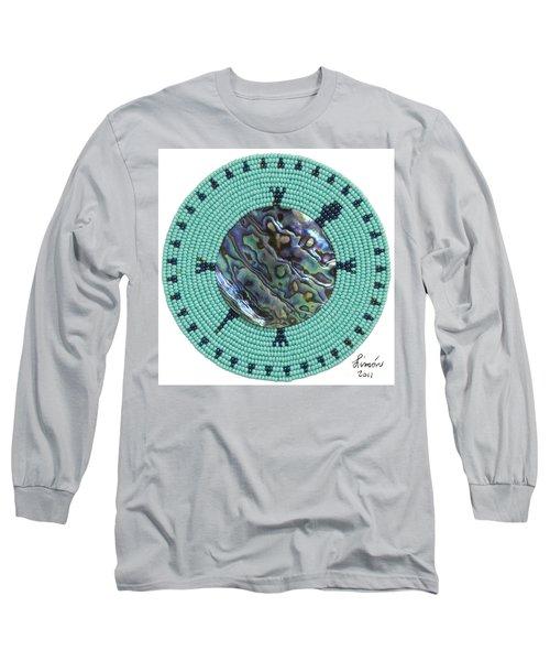 Abalone Shell Long Sleeve T-Shirt