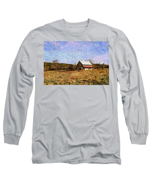 Long Sleeve T-Shirt featuring the photograph Abandoned Barn In North Georgia by Vizual Studio