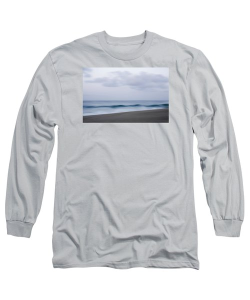 Abstract Seascape No. 09 Long Sleeve T-Shirt