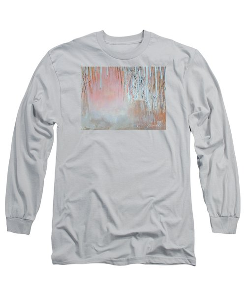Abstract Spring Long Sleeve T-Shirt by Donna Dixon