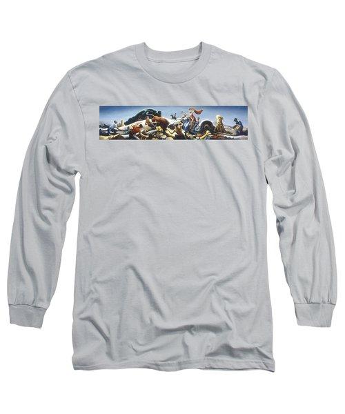 Achelous And Hercules Long Sleeve T-Shirt